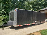 2015 8.5x24 freedom enclosed trailer  for sale $7,800