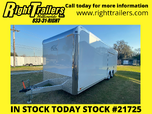 2021 8.5 x 24 ATC Enclosed Trailer  for sale $19,499