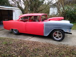 Nice 55 Chevy Drag or Pro Street (ROLLER PROJECT)