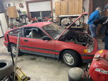 1988 Honda CRX drag project  for sale $1,500
