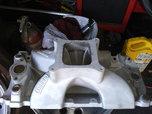 Brodix bbc 4150 square port high velocity alum intake  for sale $350