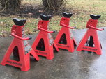 Four 12-Ton Jack Stands  for sale $200