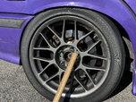 Hoosier R7 245/40/17 (2HC) + Apex ARC-8 Wheels 17x9 Anthraci  for sale $1,950