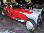 Bonneville Salt Flat Race Car