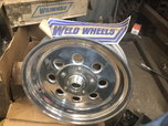 """NEW Weld Spindle Mount 15""""x 3.5"""" wheels  for sale $500"""