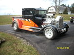 1929 REAL STEEL FORD BLOWN SUPERCHARGED PRO STREET SHOW TRUC  for sale $85,000
