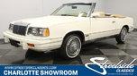 1986 Chrysler LeBaron  for sale $14,995