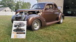1939 ford coupe street rod.
