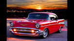 ISO 57 Chevy bel air 2 door hardtop