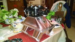 GM/Eddy 18* John Marcella/Chris Uratchko sheet metal intake  for sale $2,200