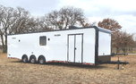 New 2021 34' Cont. Cargo Car Trailer w/Bath PKG for Sale $32,413