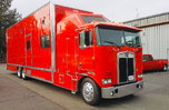 1986 Kenworth Aero-Dyne Cabover (2 Car) STACKER! Low Miles!  for sale $99,000