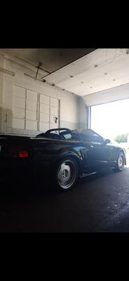 Supercharged sbc Mustang