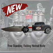 Hotrod Deuce Coupe Folding Knife  for sale $39