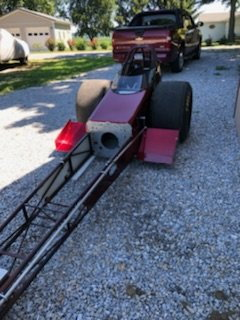 """69 Logghe - 200"""" Front Engine Dragster - FED"""