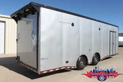 28' Black-Out Auto Master Race Trailer Wacobill.com for Sale $22,995