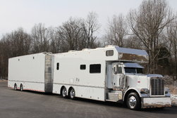 2012 S&S PETERBILT 389 25' TOTERHOME & 38' LIFTGATE   for sale $389,000