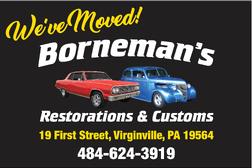 Borneman's Restorations and Customs, Inc for Sale