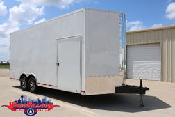 20' Extra-Tall Enclosed Motorcoach Trailer