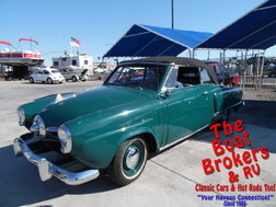 1950  studebaker   Champion Regal Deluxe Convertible   for sale $24,995