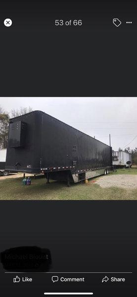 lift gate stacker trailer