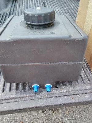 rjs. Plastic. 5 gal fuel cell