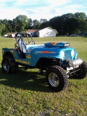75 Jeep sand dragger