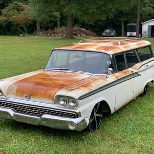 Very Cool FORD Country Sedan WAGON