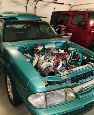 1993 Mustang calypso coupe