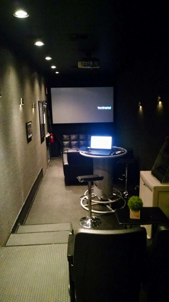 53' Hauler Movie Theater Office Race Trailer   for Sale $55,000