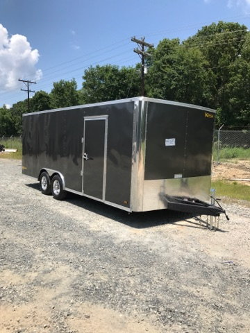 NEW 2019 Kaufman Enclosed Car Trailer  for Sale $4,690