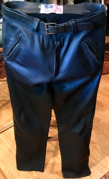 Leather MC Pants   for Sale $60