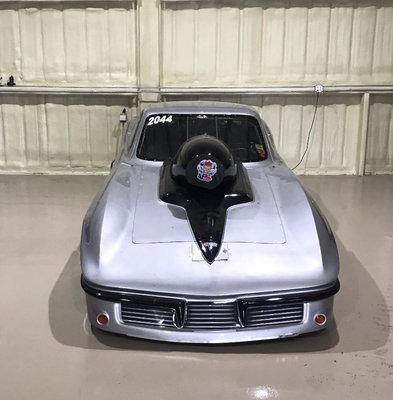 Corvette 1963 Racing Car