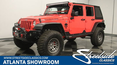 2013 Jeep Rubicon Unlimited Supercharged