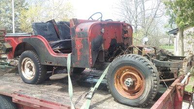 1966 Jeep CJ3