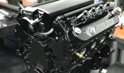 735 hp,  6.8L Hydraulic Roller LS Engine