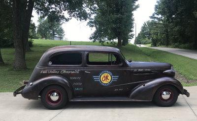 1937 Chevrolet rare flatback