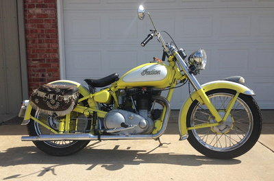 1949 Indian Scout Super Sport 249
