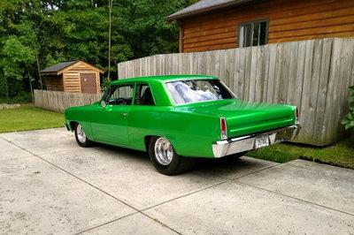 Nice Pro Street 66 Chevy II