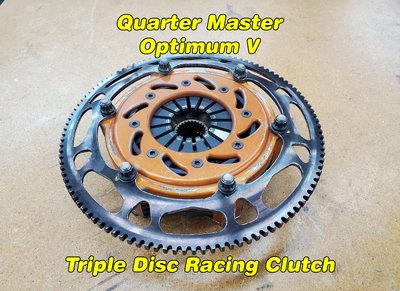 Quarter Master Optimum V Clutch