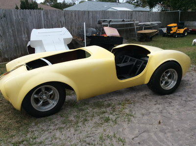 1966 Ford cobra unfinished kit incomplete