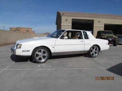 1987 buick regal T 1 of 1 built documented mint