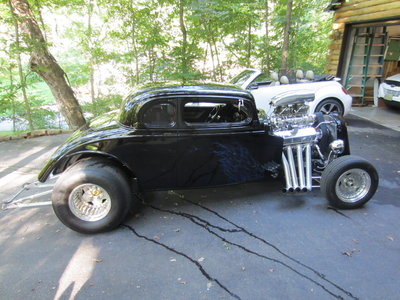 1934 chevy 5w coupe