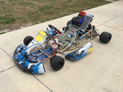 Birel shifter cart with 650cc engine