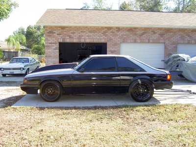 1991 Ford Mustang roller