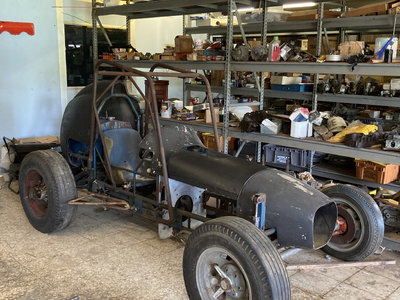 Vintage Sprint Car