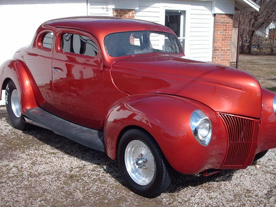 1939 Ford deluxe coupe RACECAR