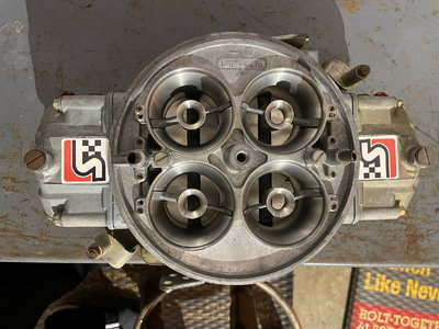 1150 Stinnett Holley Dominator Carb