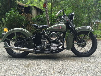1947 Harley knucklehead