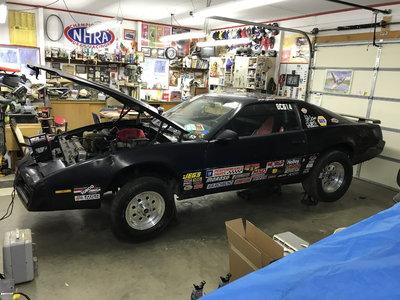 1983 Firebird bracket car